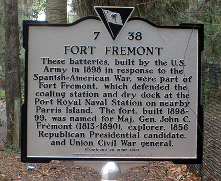 SC historic place marker