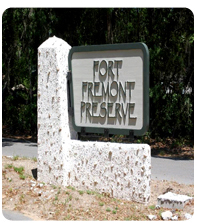 fort fremont preserve sign